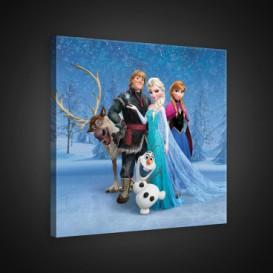 Obraz na plátne štvorec - OB2155 - Ľadové kráľovstvo