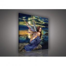 Obraz na plátne štvorec - OB2173 - Víla