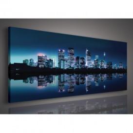 Obraz na plátne panoráma - OB2174 - New York