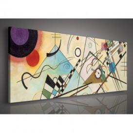 Obraz na plátne panoráma - OB2180 - Abstrakcia
