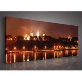 Obraz na plátne panoráma - OB2190 - Nočná Katedrála