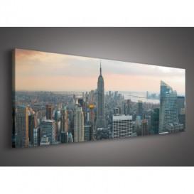 Obraz na plátne panoráma - OB2194 - New York