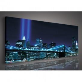 Obraz na plátne panoráma - OB2206 - New York