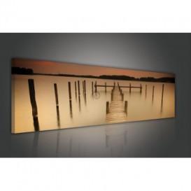 Obraz na plátne panoráma - OB2212 - Mólo