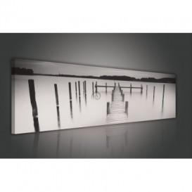 Obraz na plátne panoráma - OB2215 - Mólo