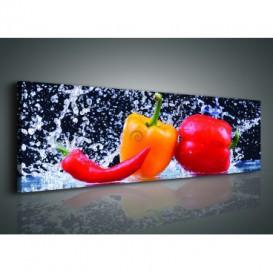 Obraz na plátne panoráma - OB2229 - Zelenina