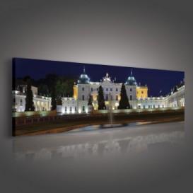 Obraz na plátne panoráma - OB2232 - Zámok v noci