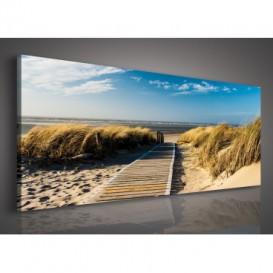 Obraz na plátne panoráma - OB2233 - Pláž