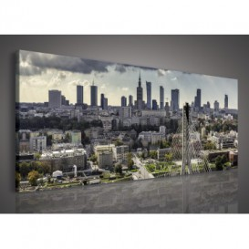 Obraz na plátne panoráma - OB2247 - Mesto