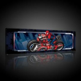 Obraz na plátne panoráma - OB2277 - Spiderman