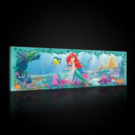 Obraz na plátne panoráma - OB2280 - Malá morská víla: Ariel
