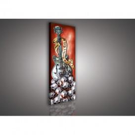 Obraz na plátne panoráma - OB2284 - Alchemy - gitara