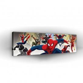 Obraz na plátne panoráma - OB2285 - Spiderman