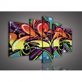 Obraz na plátne viacdielny - OB2325 - Grafit