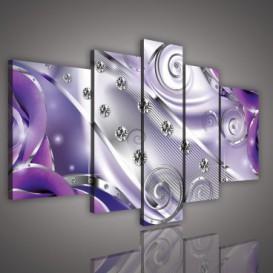 Obraz na plátne viacdielny - OB2387 - Diamanty