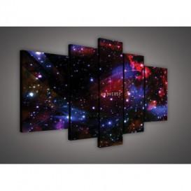 Obraz na plátne viacdielny - OB2391 - Vesmír