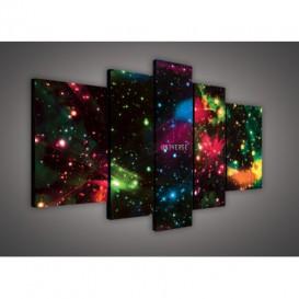 Obraz na plátne viacdielny - OB2392 - Vesmír