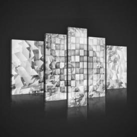 Obraz na plátne viacdielny - OB2428 - 3D kocky