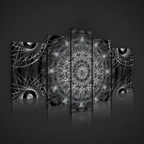 Obraz na plátne viacdielny - OB2431 - Mandala