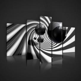 Obraz na plátne viacdielny - OB2434 - 3D gule