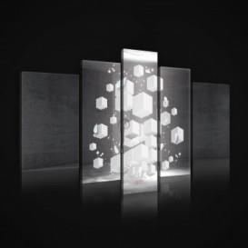 Obraz na plátne viacdielny - OB2451 - 3D kocky