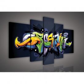 Obraz na plátne viacdielny - OB2511 - Grafit