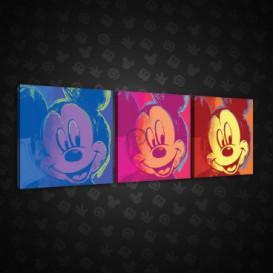 Obraz na plátne viacdielny - OB2601 - Mickey Mouse
