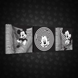 Obraz na plátne viacdielny - OB2602 - Mickey Mouse