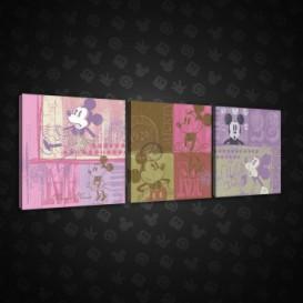 Obraz na plátne viacdielny - OB2604 - Mickey Mouse