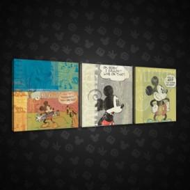 Obraz na plátne viacdielny - OB2605 - Mickey Mouse