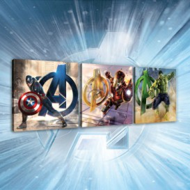 Obraz na plátne viacdielny - OB2608 - Avengers