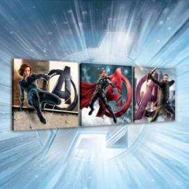 Obraz na plátne viacdielny - OB2609 - Avengers