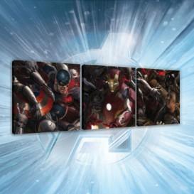 Obraz na plátne viacdielny - OB2613 - Avengers