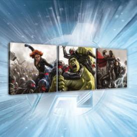 Obraz na plátne viacdielny - OB2614 - Avengers
