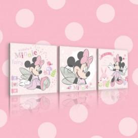 Obraz na plátne viacdielny - OB2624 - Minnie Mouse