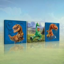 Obraz na plátne viacdielny - OB2625 - Dobrý Dinosaurus