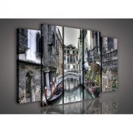 Obraz na plátne viacdielny - OB2751 - Benátky