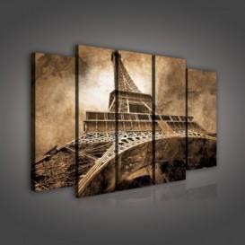 Obraz na plátne viacdielny - OB2756 - Paríž