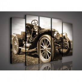 Obraz na plátne viacdielny - OB2776 - Auto