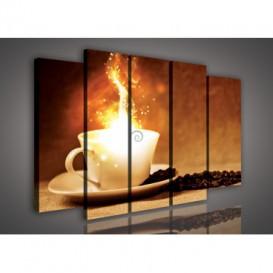 Obraz na plátne viacdielny - OB2789 - Káva