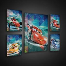 Obraz na plátne viacdielny - OB2948 - Cars Autá