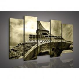 Obraz na plátne viacdielny - OB3019 - Paríž