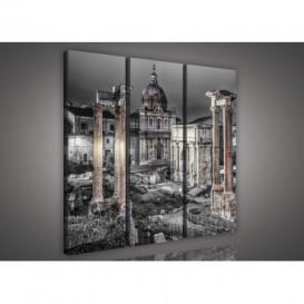 Obraz na plátne viacdielny - OB3102 - Rím