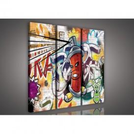 Obraz na plátne viacdielny - OB3118 - Grafit