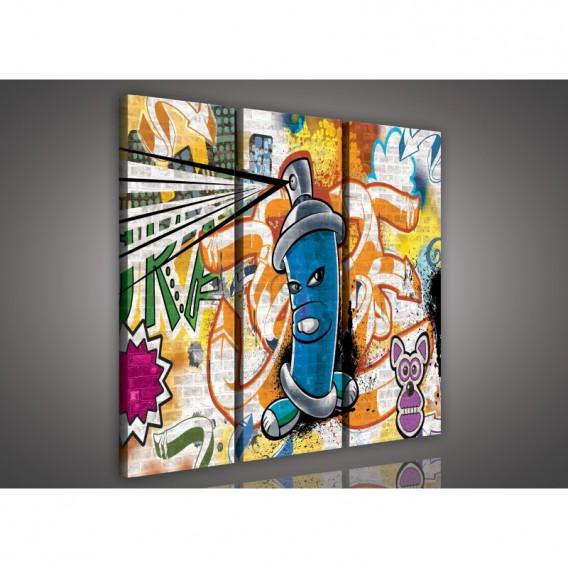 Obraz na plátne viacdielny - OB3121 - Grafit