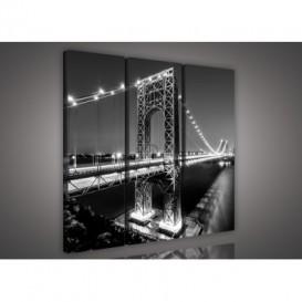 Obraz na plátne viacdielny - OB3123 - Most
