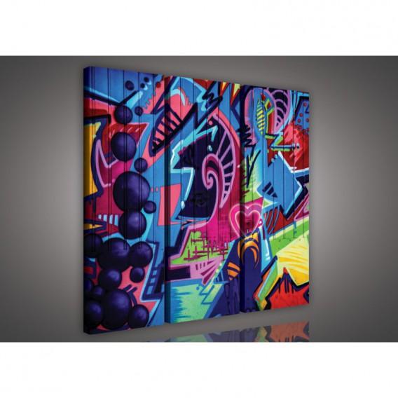 Obraz na plátne viacdielny - OB3207 - Grafity