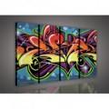 Obraz na plátne viacdielny - OB3313 - Grafit