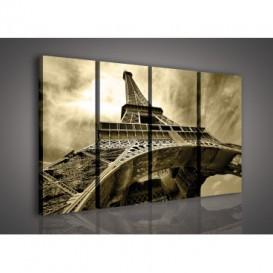 Obraz na plátne viacdielny - OB3318 - Paríž