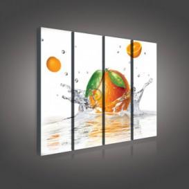 Obraz na plátne viacdielny - OB3345 - Pomaranč